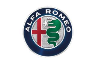 Logo Alfa Romeo in Farbe