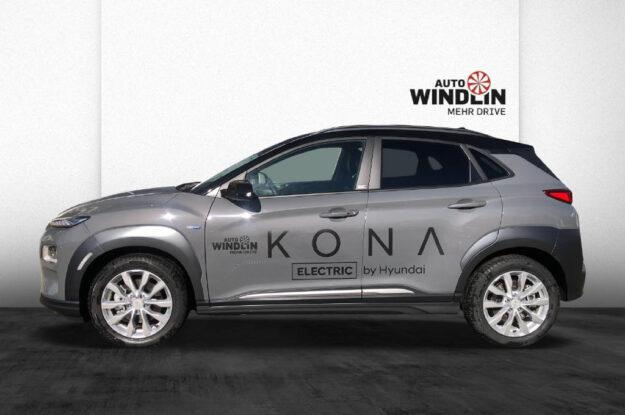 Hyundai Kona EV Vertex 092038 grau (9)