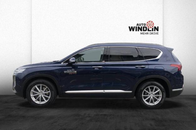 Hyundai Santa Fe 2.2 CRDI Vertex 4WD 251058 blau (6)